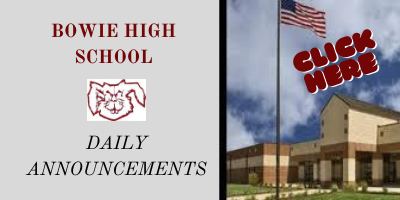 BHS Daily Announcements